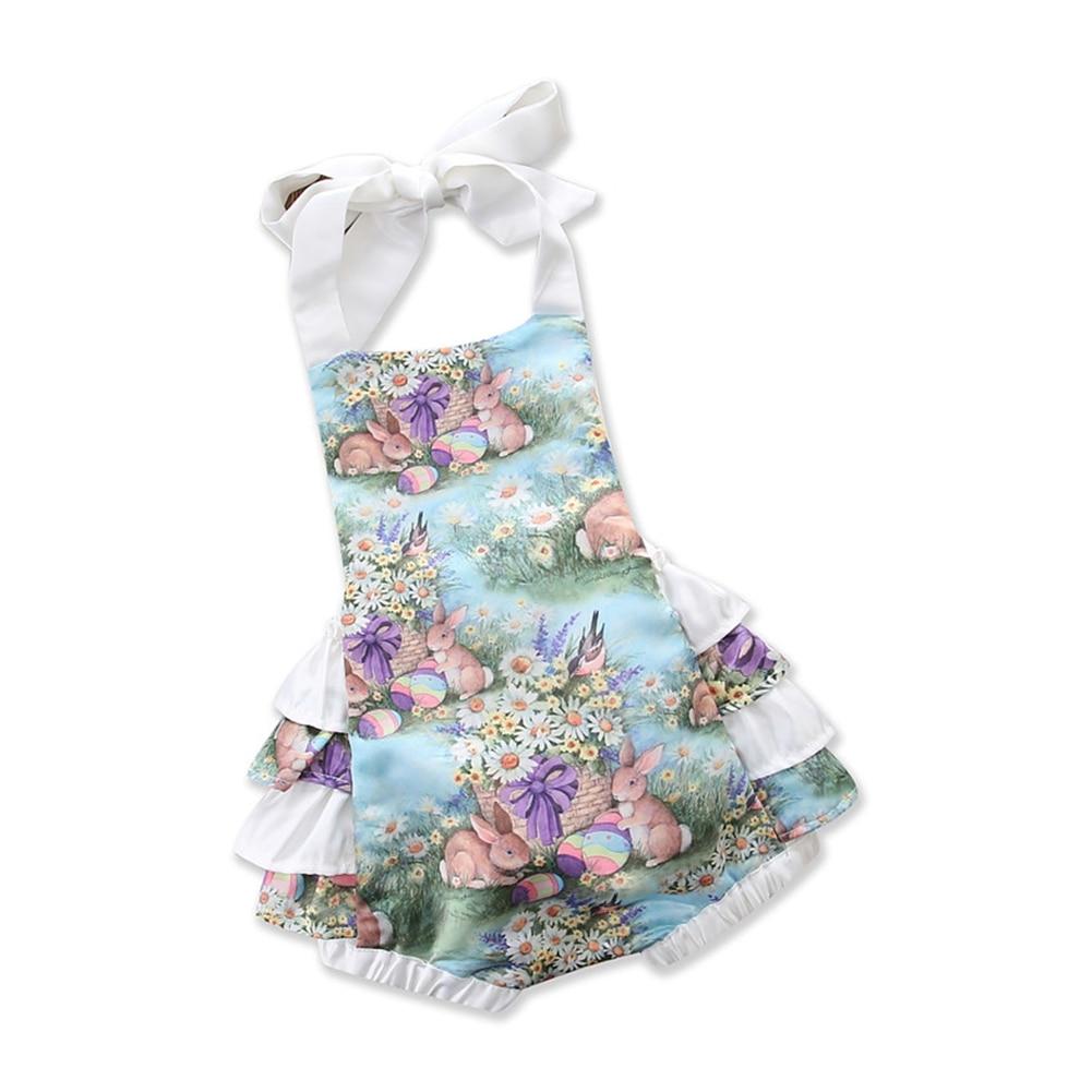 Helen115 Lovely Newborn Baby Girls Clothing Kids Princess Purple Flower Dress 0-24M