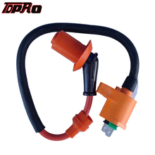 TDPRO Orange Motorcycle Racing Ignition Coil For GY6 50CC 125CC 150CC Engines Moped Scooter ATV Quad Buggy Dirt Pit Bike Go Kart