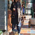Mujeres Vintage Print chaleco de abrigo chaleco 2016 otoño invierno nuevo puro algodón sin mangas de la rebeca floja chaleco de un solo pecho