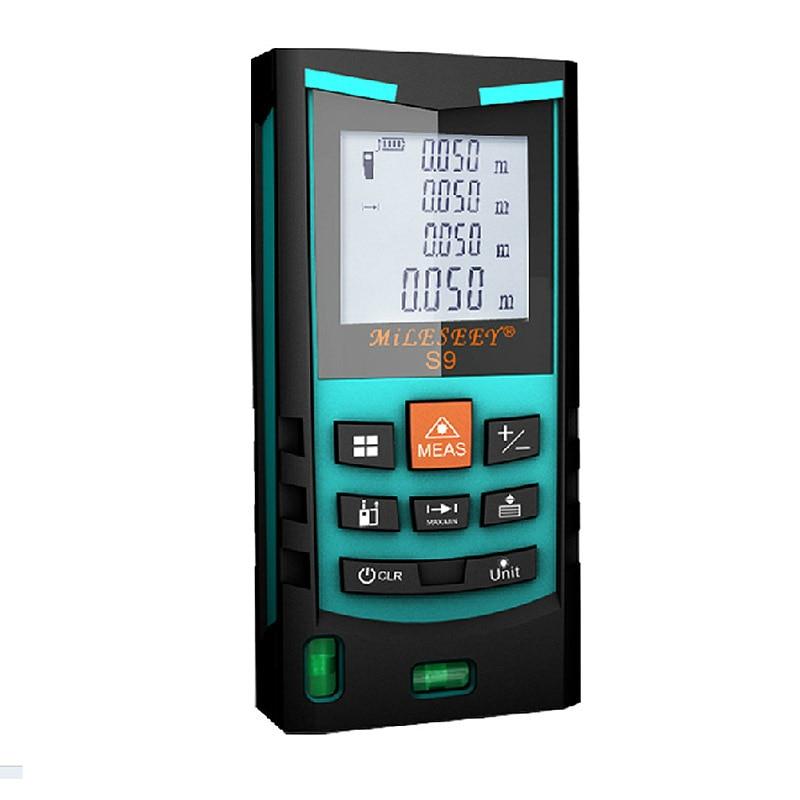 ФОТО Mileseey S9 60M Handheld digital laser rangefinders distance laser distance meter range finder measure