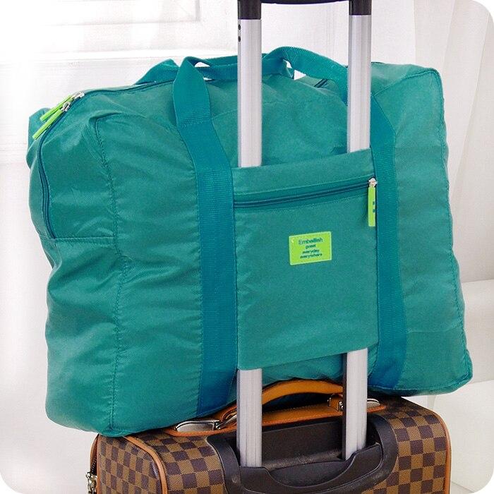Korean Nylon Foldable Bag Travel Finishing Portable Large Capacity Relatively Thickness Storage