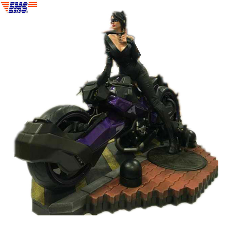 Presale The Avengers DC Comics Selina Kyle Catwoman 1/4 Polystone Statue Action Figure Model (Delivery Period: 60 Days) X848