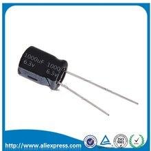 50ชิ้น6.3โวลต์1000ยูเอฟ1000ยูเอฟ6.3โวลต์อลูมิเนียมไฟฟ้าประจุขนาด8*12มิลลิเมตร6.3โวลต์/1000ยูเอฟE Lectrolytic C Apacitorจัดส่งฟรี