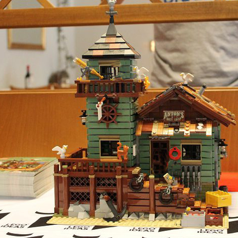 MOC Series Lepin 16050 The Old Finishing Store Set Children Educational Building Blocks Bricks Toys 21310 Christmas Best Gift 10 0 16050 50 preciosa
