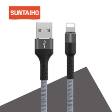 Suntaiho for Lighting cable for iphone 6s Plus for phone cable for iPhone X 7 8 plus 5 SE 2A USB Cable Sync Fast Charger cable