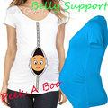 """2016 New """"baby peeking out"""" Maternity Shirt Top Pregnancy Clothing Great Gift Cheap Tees Casual plus size XXL Free shipping"""