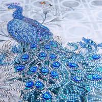 Tier teil Strass Pfau 5D Diamant DIY Diamant Malerei Spezielle Daimond zubehör, Diamant Sticken, wohnkultur