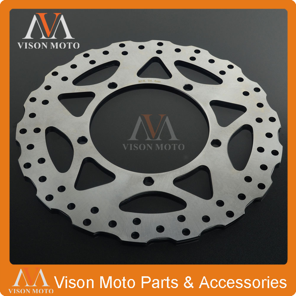Motorcycle Front Brake Disc Rotor For KAWASAKI NINJA250 NINJA300 NINJA 250 300 2013 2014 2015 13 14 15 for kawasaki ninja 250 ninja250 2008 2015 ninja 300 ninja300 2013 2015 motorcycle aluminum short brake clutch levers black