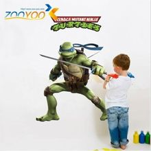 Giant DONATELL Teenage Mutant Ninja Turtles Wall Sticker Decor Kid Decal DIY EZH цена