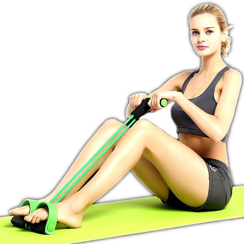 2 Elastik Band Fitness Equipment Çəkmə İpləri Tic Ayaq Yoga - Fitness və bodibildinq - Fotoqrafiya 3