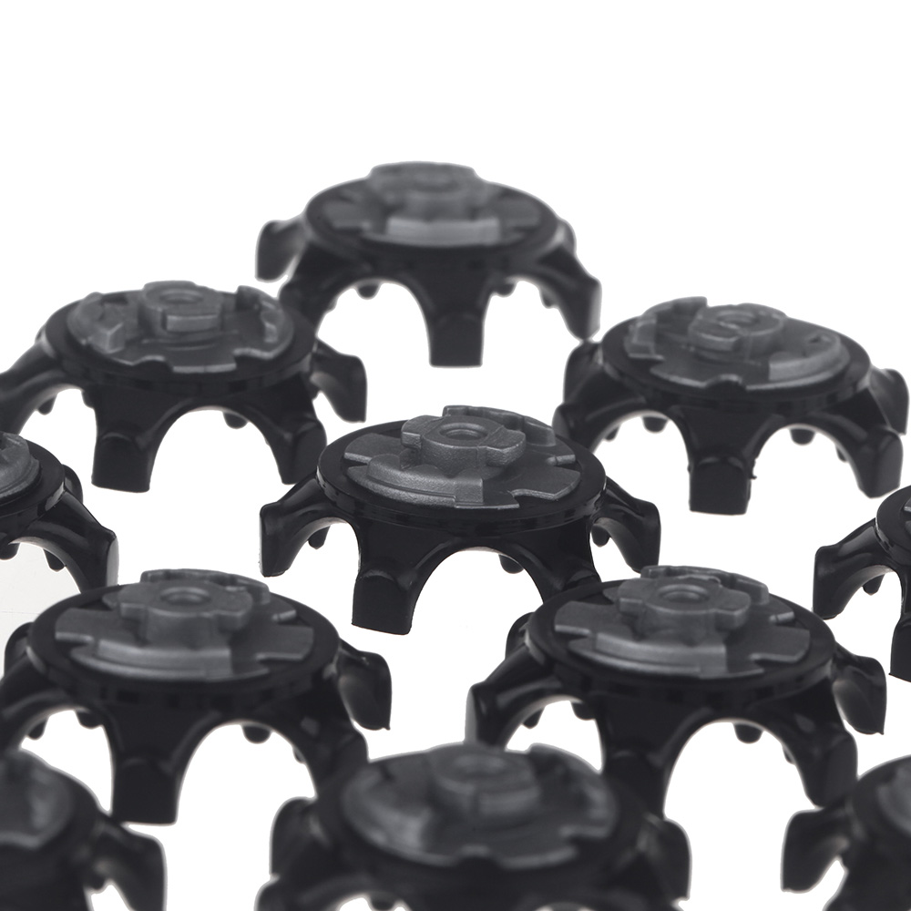 Image 3 - 16pcs/Set Easy Replacement Golf Spikes Ultra Thin Cleats for Golf Shoes Ultra Thin Cleats Black Wholesale-in Golf Training Aids from Sports & Entertainment