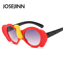 Fashion clildren Elephant typle Sunglasses cute dog shape frame Kids Designer Boy Girl sun Glasses Oculos De Sol