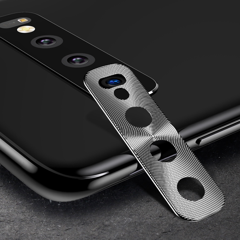 Welsely Rear Camera Back Lens Protective Full Cover Protector Protection For Samsung S10 S10 Plus S10e A8s A9s 2018 Metal Case
