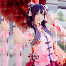 La maxpa lovelive love live china chinese dress despertar idol yazawa nico cosplay japanese anime costume girls mujeres cosplay