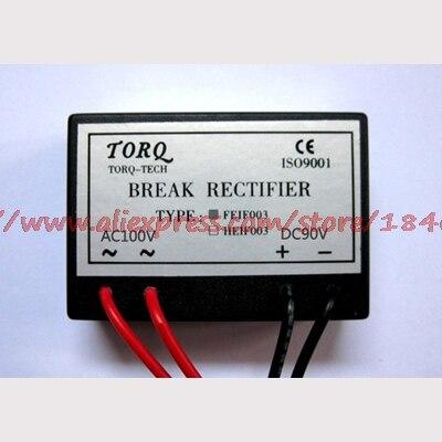 Free Shipping     FEIF006A (AC100 ~ 110V/DC90 ~ 99V) 7.5KW Rectifier Brake Rectifier
