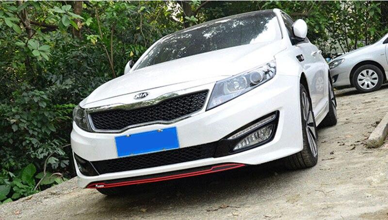 Спорт Красный турбо gdi передний и задний бампер Стикеры Виниловая наклейка для KIA K5 OPTIMA 2011 2012 2013