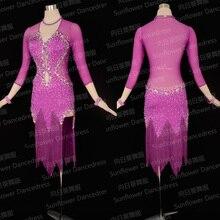 NEW,Rumba Jive Chacha Latin Dance Dress,ballroom dress,dance wear, latin dress ,tango salsa  samba Dance Dress