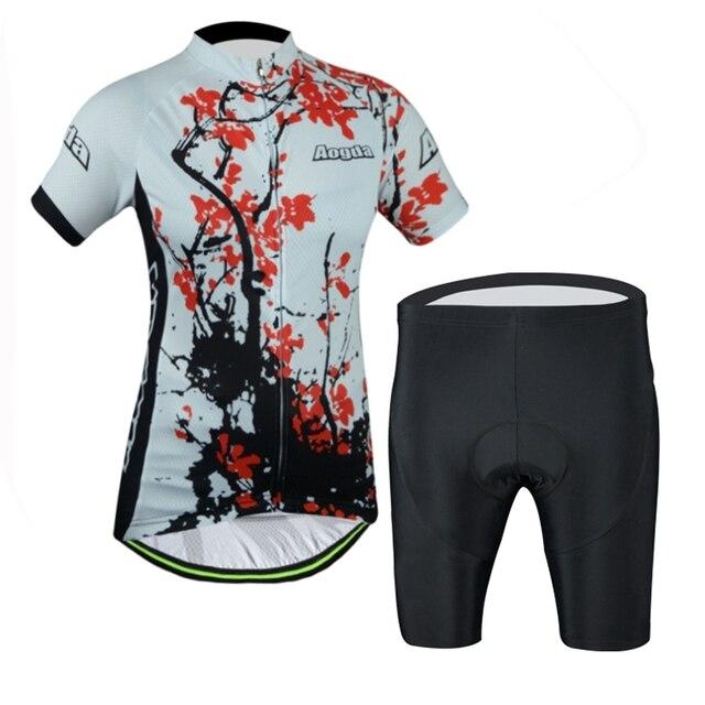 a6357c4ab 2017 Women Cycling Jersey bikes 17s Cycling Clothing Pro Bike Jersey Pink  mountain Bike Wear Bicycle Shirts Top