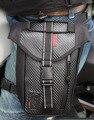 Novos Homens Oxford Saco Gota Perna Fanny Cintura Cinto Hip Bum viagem de Equitação Da Motocicleta Tendência Bolsa Pacote Tampa Da Caixa de Telefone Celular À Prova D' Água