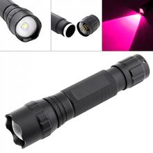 LED Flashlight 2000LM 502B Mini LED Infrared IR 850nm Night Vision Zoom Flashlight Waterpproof Torch for Hunting Outdoor Camping led zoom flashlight tourch 502b 18650 mini green light xml t6 led 1200 lumen waterpproof for fishing hunting camping cycling