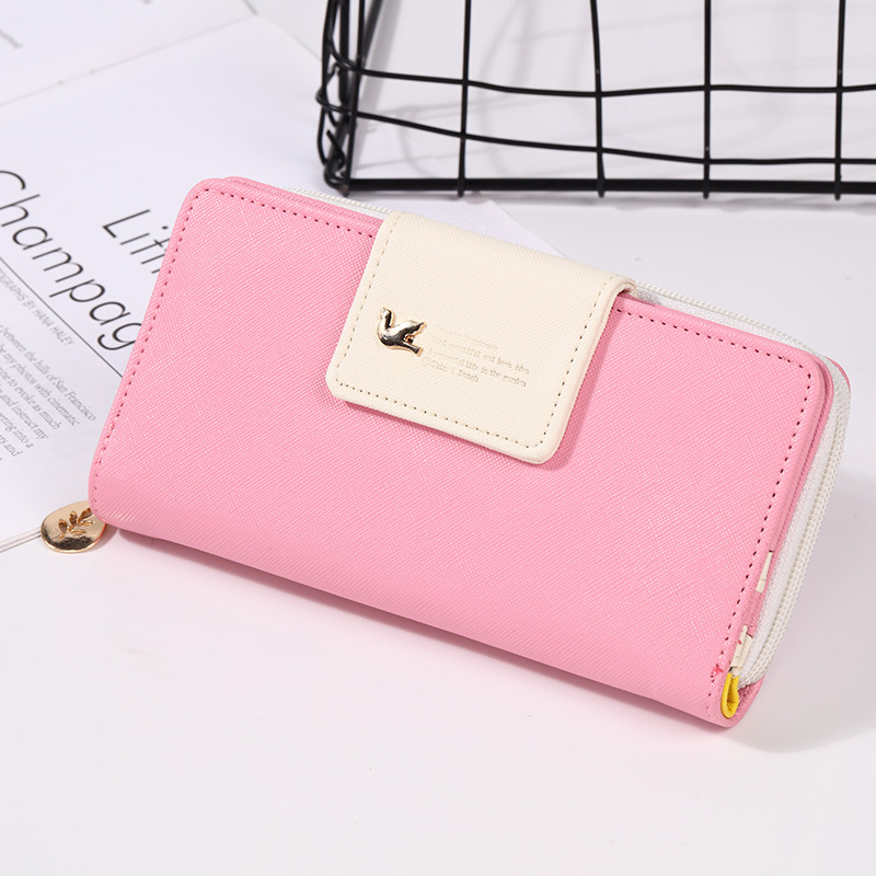 Women Wallets Card-Holder Clutch Coin-Money-Bag Portomonee Designer Long Luxury Famous Brands