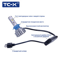 Presale TC X New Arrival T1 Pro LED Car Headlights Kit H7 H11 H1 HB4 9006