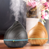 EASEHOLD 150ml Essential Oil Diffuser Wood Grain Ultrasonic Cool Mist Humidifier With 7 Color Changing LED