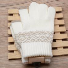 Winter Gloves Women Warmer Full Finger Gloves Girl Knit Wool Gloves Ladies New Arrival