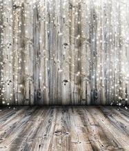 Huayi искусства ткани ткани фотография фон рождество дерево фон студии новорожденных фонов снег искра фоне d-2389