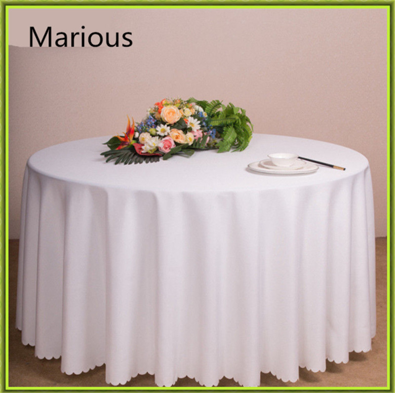 20pcs/lot 70inch Many Color Table Cloth Round Polyester Tablecloth Factory  Price Cloth For Wedding
