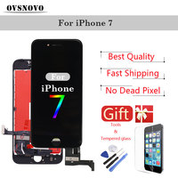 Display Digitizer Assembly For IPhone 7 LCD Screen Replacement LCDs Touch Pantalla Panel Parts With Tempered