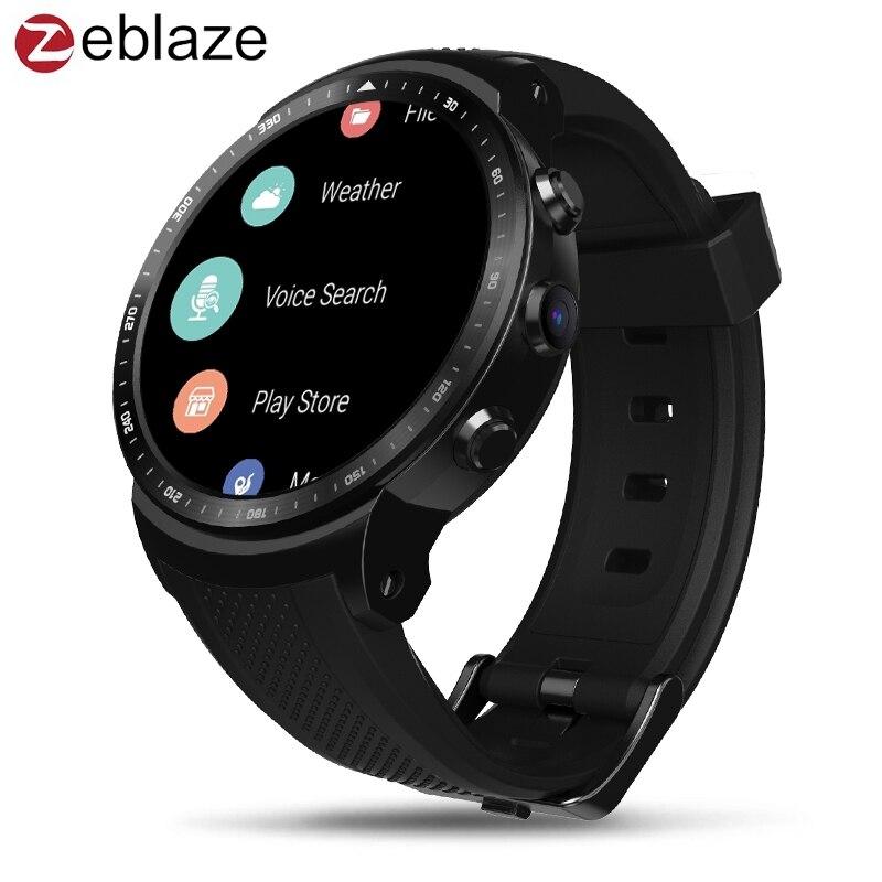 Zeblaze Thor PRO 3g Android Montre Smart Watch Mobile Téléphone Multi Cadran Coeur Taux WiFi Bracelet Bracelet Montre-Bracelet Hommes Femmes sport