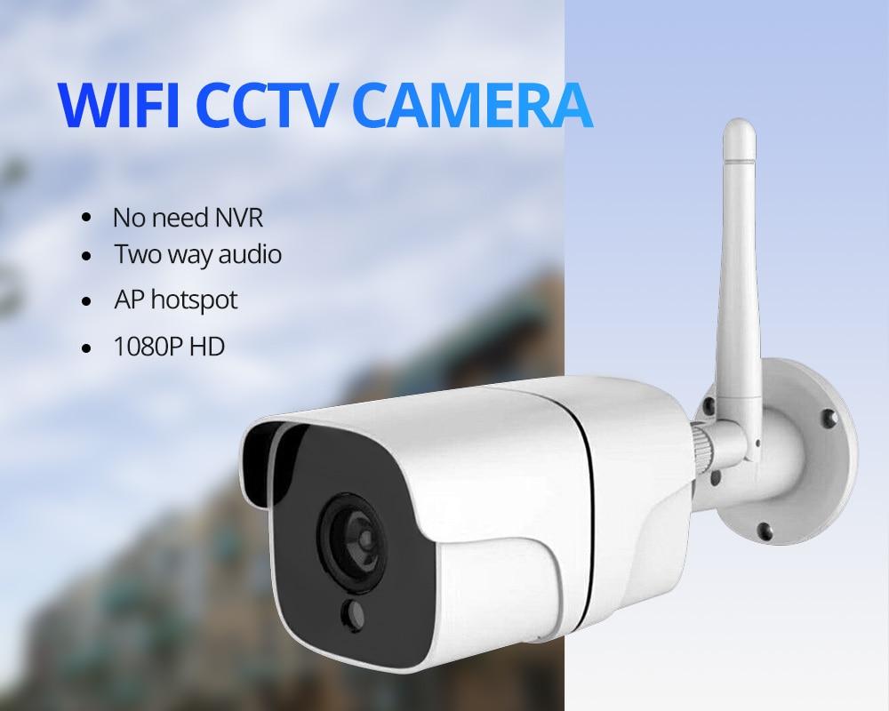 Wetrans CCTV Camera Wifi Outdoor Home Security Wireless Camera H 264+ Audio  Hotspot IP Kamera 1080P Wifi Cam Video Surveillance