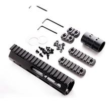 AR15 M4 M16 MLOK Taktische 7 zoll One Piece Kostenloser Float Gewehr Handschutz Picatinny Schiene Halterung