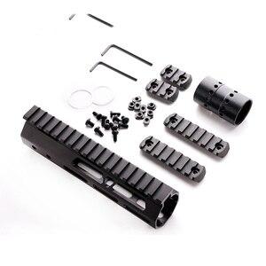 Image 1 - AR15 M4 M16 MLOK táctica 7 pulgadas una pieza flotador libre Rifle guardamanos de montaje riel Picatinny soporte