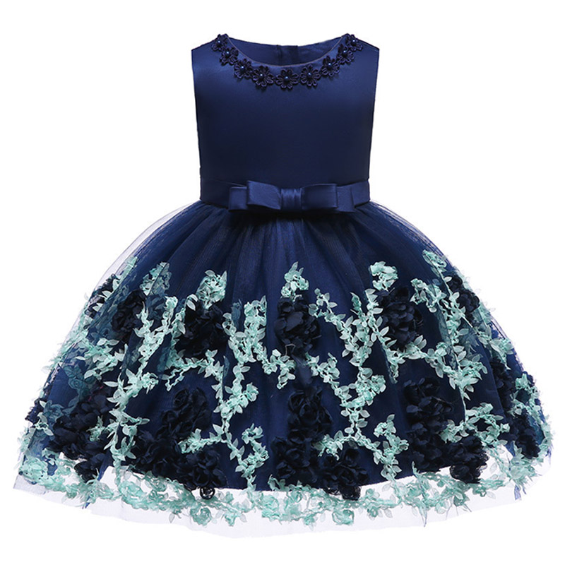 Flower     girl     dresses   children's party clothing kids ball gown clothes first communion princess   dress   baby costume evening clothes