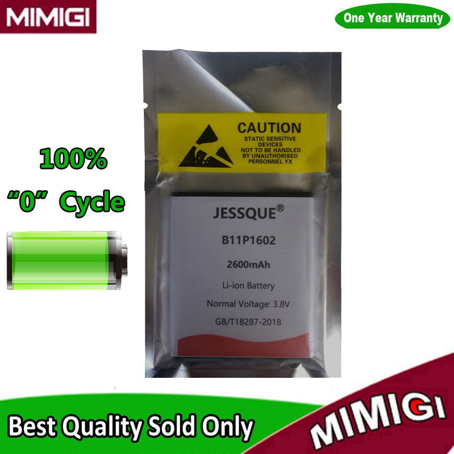 JESSQUE B11P1602 Batterie Pour ASUS Zenfone Aller 5 ZB500KL X00AD X00ADC X00AD Bateria Batterie Accumulateur ACCU AKKU AKU