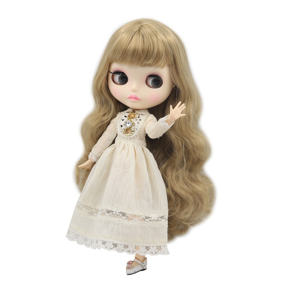 """New Cute Fat Girl 12/"""" Neo Blythe Doll Factory Nude Blythe Doll from Factory"""