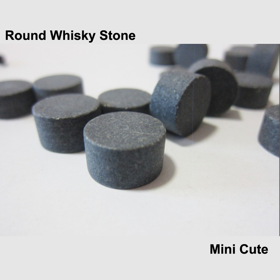 6pcs Cheapest Mini Round Column Whisky Stones 100% Natural Whiskey Stone Ice Cube Stones Whiskey Rock Bar Accessory Beer Cooling ...