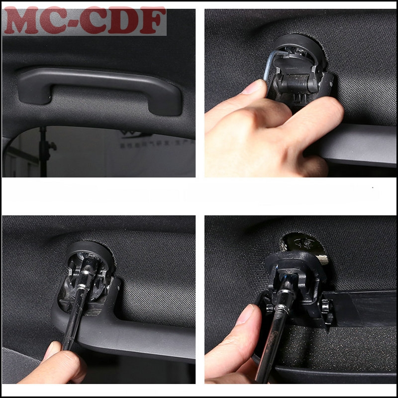 For VOLVO XC60 2018 Car Glasses Holder Sunglasses Storage Box Case Replacement Parts Car Accessories