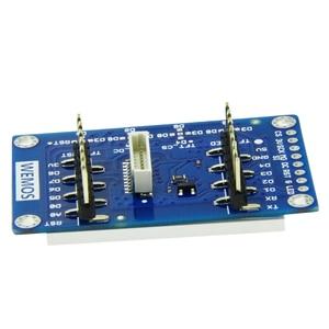 "Image 3 - ESP8266 TFT 1.4 מגן V1.0.0 תצוגת מסך מודול עבור D1 מיני 1.44 ""אינץ 128X128 SPI LCD ST7735S"