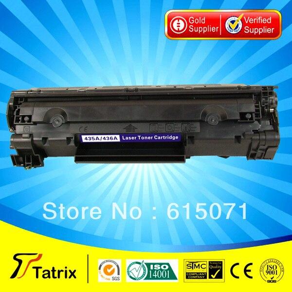 ФОТО 35A Toner Cartridge  Triple Quality Test CB435A 35A Toner Cartridge for HP toner Printer