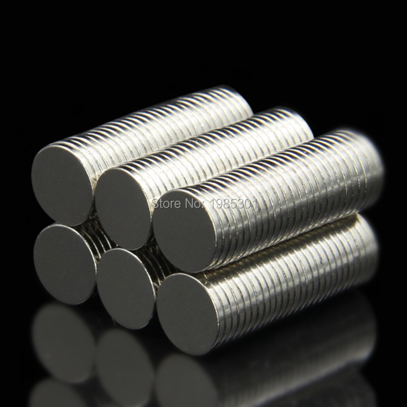 2000pcs Strong Round Dia 8mm x 1mm N35 Rare Earth Neodymium Magnet Art Craft Fridge 8x1mm