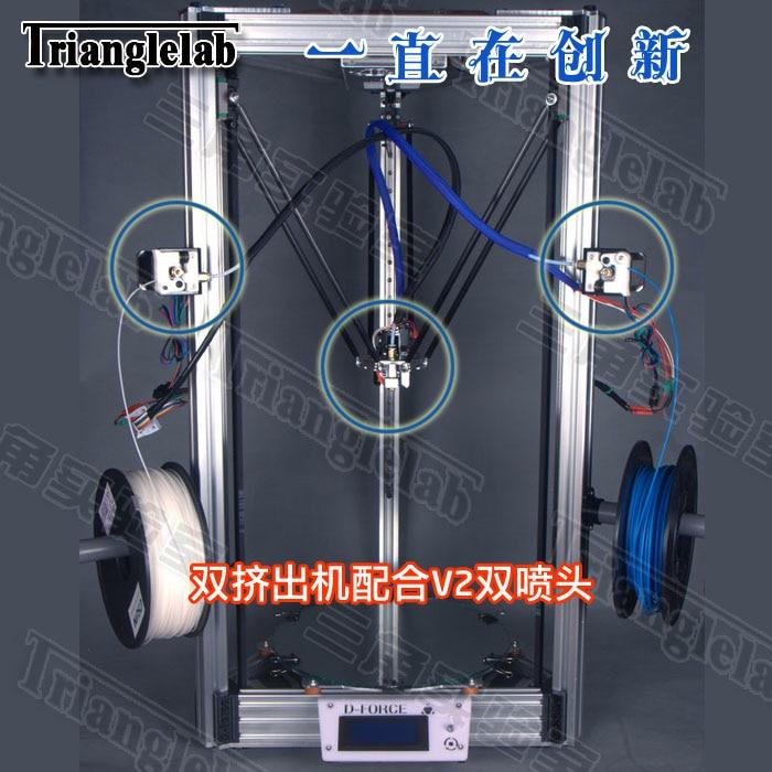 D-force 3d printer double slider kit