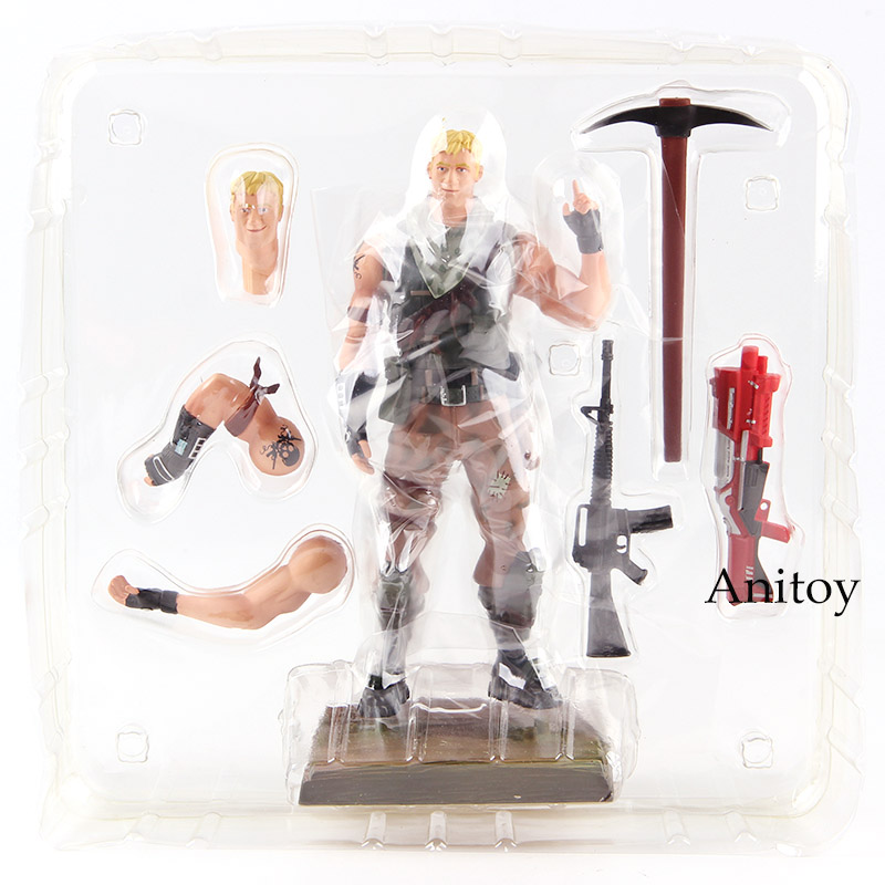 Hot Game Soldier Jonesy Action Figure PVC Collectible Model Toy 6