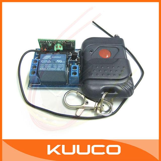 Wireless Remote Control 12V 1 Way Switch Board 12V 1 Channel NON-LOCK Controller 200M Wireless Remote Controller #090175