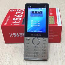 """Trois sim it5635 téléphone Russe clavier clé 2.8 """"écran gsm téléphones mobile téléphone pas cher Téléphone chine Téléphones Cellulaires d'origine H-mobile"""