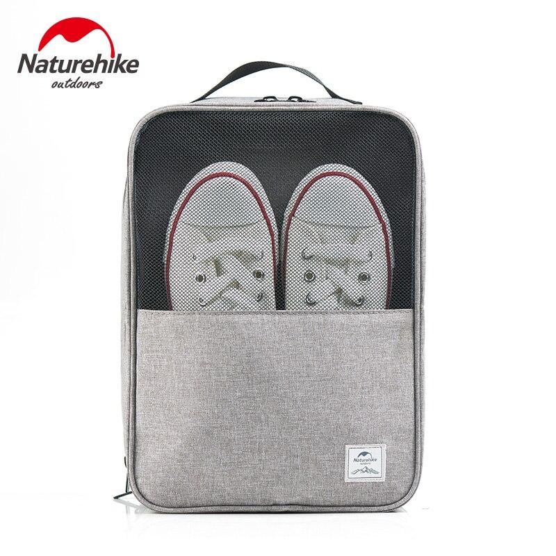 NatureHike Путешествия сумка для хранения обуви нейлон плавание Многофункциональный Путешествия Портативный сумка обувь сумка-Органайзер