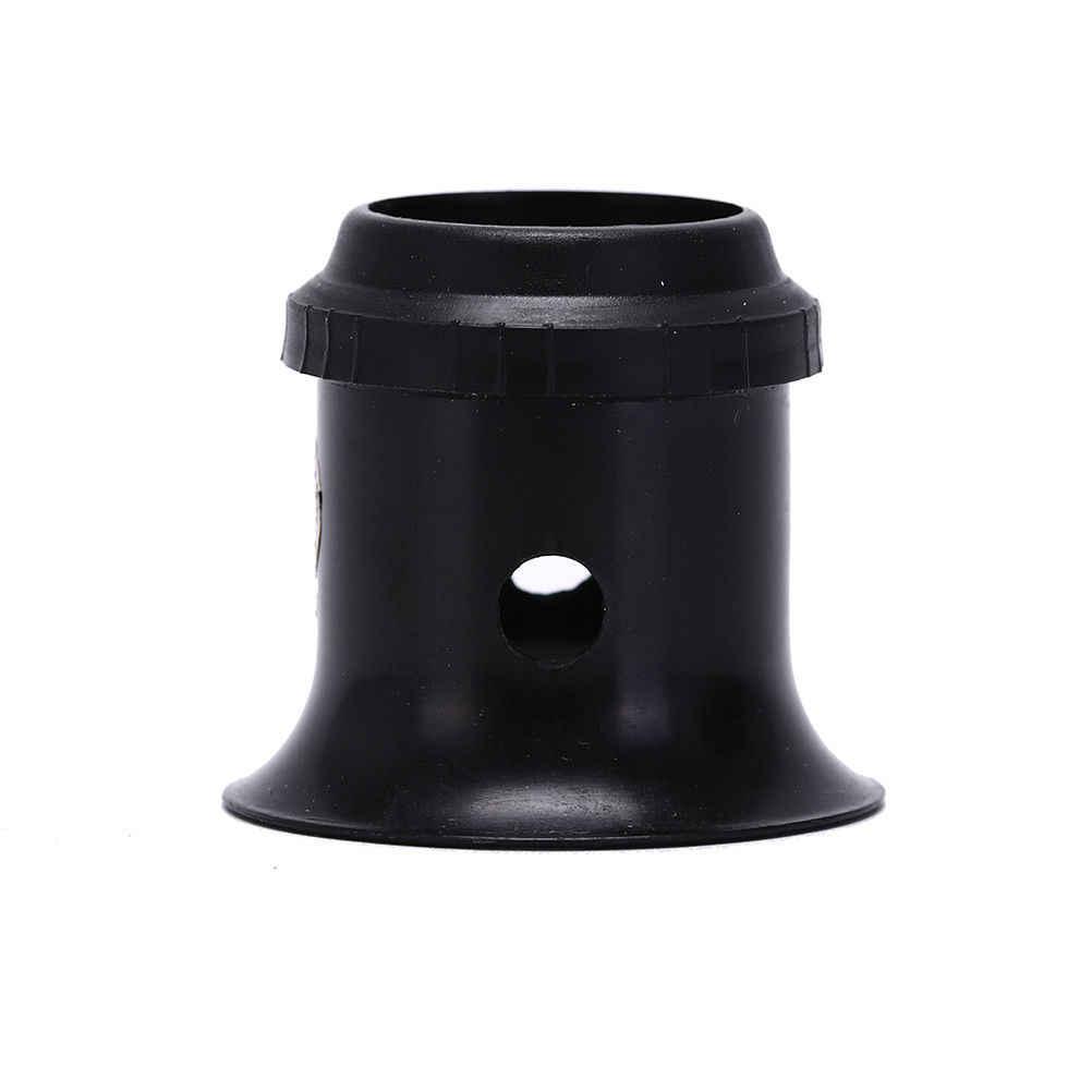 זכוכית מגדלת עדשת BlackJeweler כלי עין זכוכית מגדלת שעון 3X 4X 5X משקפת זכוכית מגדלת שעון תכשיטי תיקון כלים