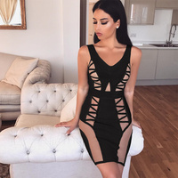 High Quality 2017 New Led By A Lap Collar Women S Dress Wholesale Black Off